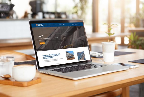 Sitio web de servicios