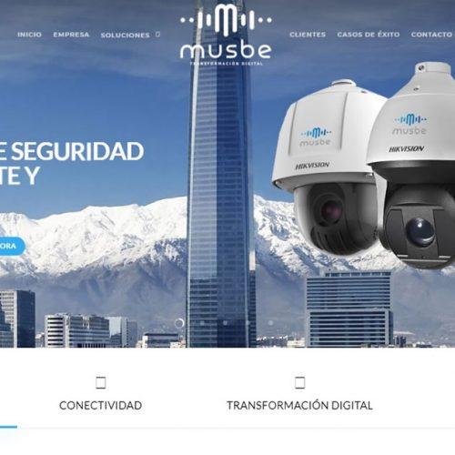 Branding Musbe - Diseño y Desarrollo Sitio Web