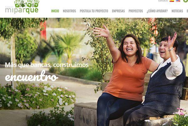 Fundación Mi Parque -Sitio web corporativo